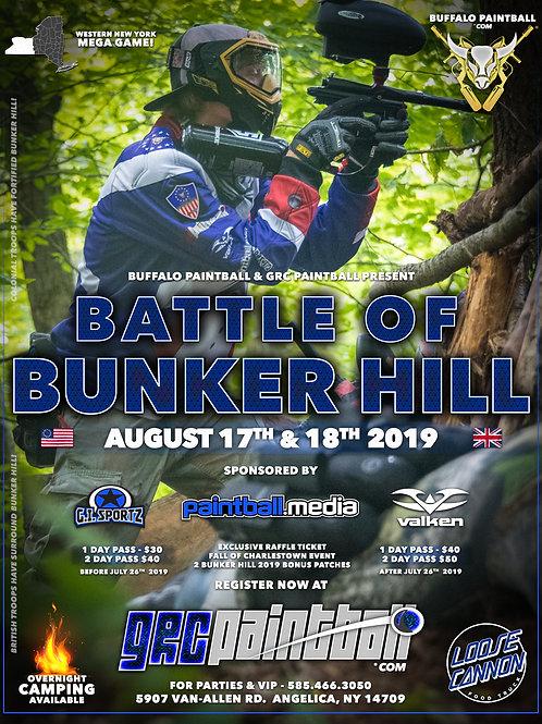 Battle Of Bunker Hill 2019