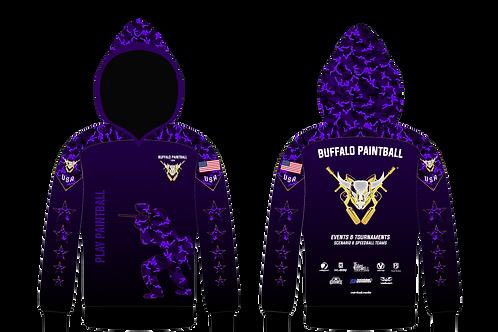 "Buffalo Paintball ""Play Paintball"" Purple Hoodie"
