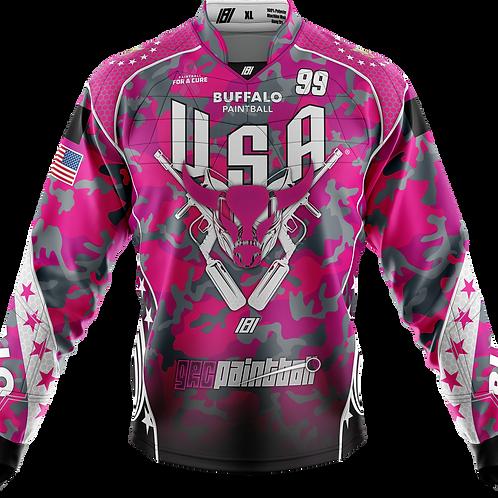 Buffalo Paintball Custom PINK 2020 USA Jersey