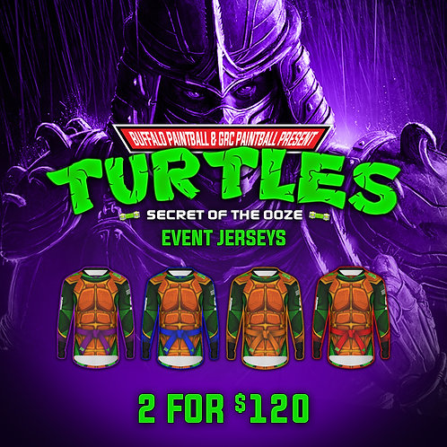Turtles Jersey Bundle - 2 for $120