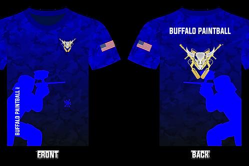 Buffalo Paintball T-Shirt (Blue)