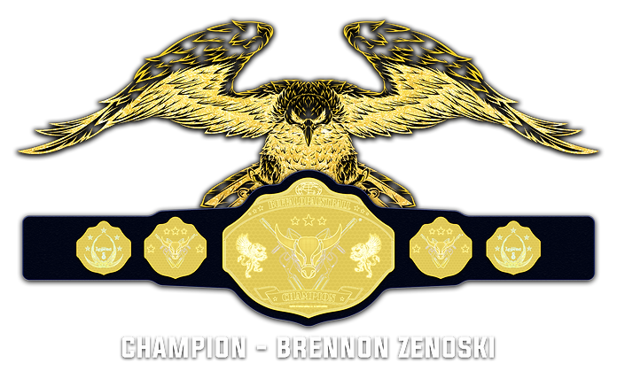 21 - Championship Belt Holder 02 (Brenno