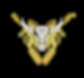 19 - Buffalo Paintball Logo (White and G
