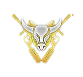 19 - Buffalo Paintball Logo (White and G