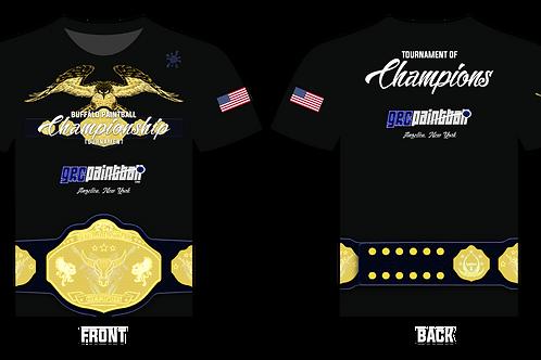 Championship Tournament T-Shirt (Black)