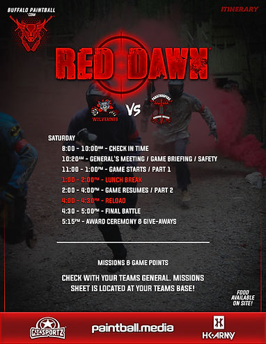 20 - Red Dawn Itinerary and Set Up 01 (F
