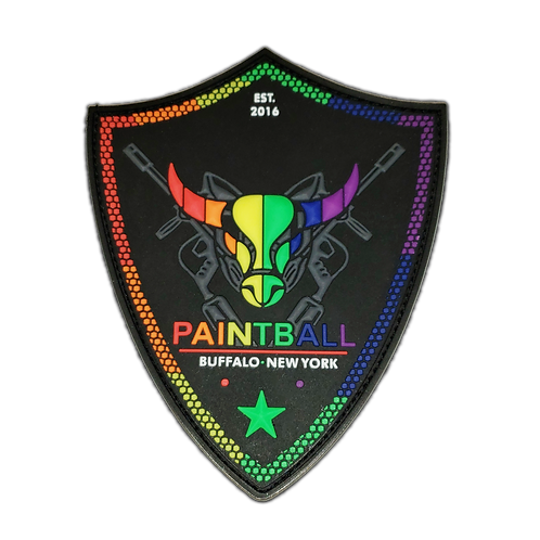 Buffalo Paintball Pride Patch