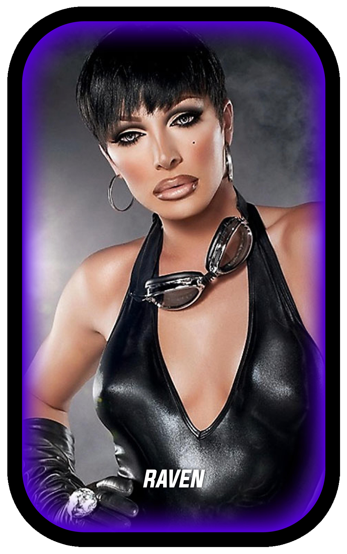 19 - Queen Profile (Raven) 01