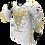Thumbnail: Buffalo Paintball Custom White & Gold 2021 USA Jersey