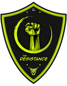 19 - The Resistance Patch 3.5 H x Auto W