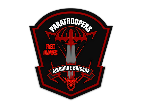 Buffalo Paintball Paratroopers Patch