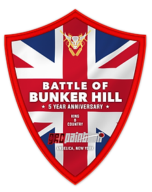 21 - Battle Of Bunker Hill British Bonus