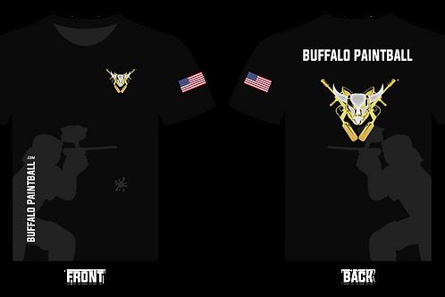 Buffalo Paintball T-Shirt (Black)