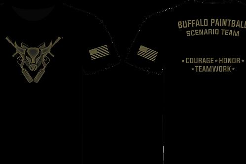 Buffalo Scenario Team T-Shirt (Black)