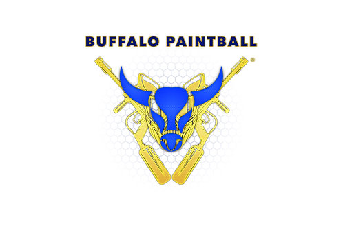 White Buffalo Paintball Flag