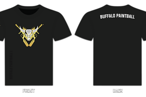 Buffalo Paintball Logo T-Shirt (Back)