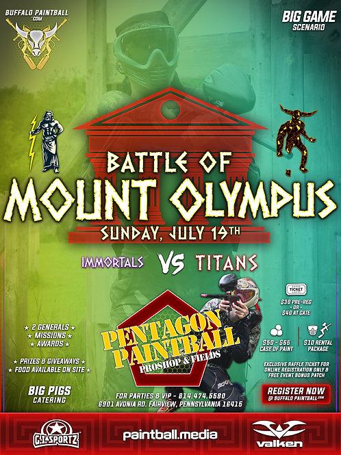 Battle Of Mount Olympus 2020