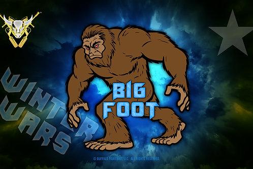 Big Foot Flag