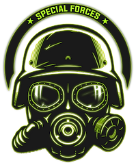 20 - Special Forces Logo 01 (Green Glow)