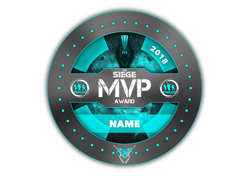 Rangers MVP Award