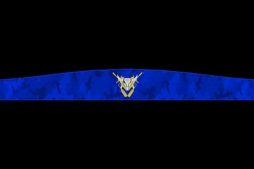 Buffalo Paintball USA Jersey Headband (Blue)