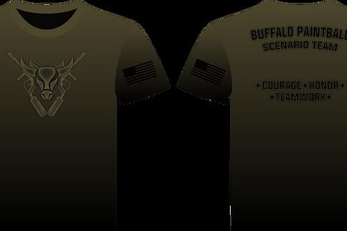 Buffalo Scenario Team T-Shirt (Olive)