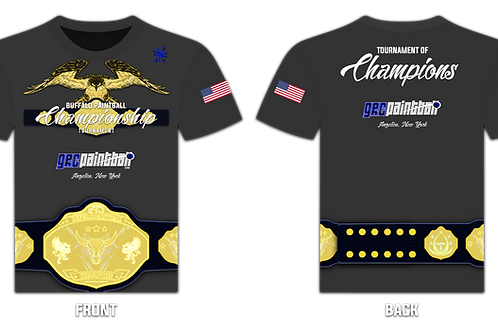 Championship Tournament T-Shirt (Grey)