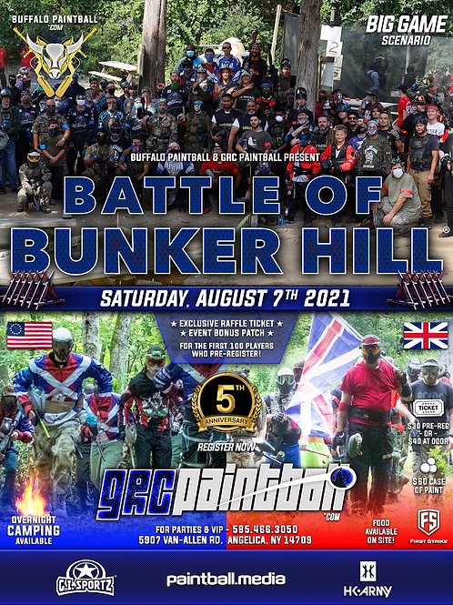 Battle Of Bunker Hill 2021 - 5 Year Anniversary