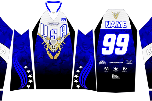 Buffalo Paintball Custom USA Jersey