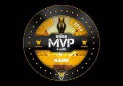 Mauraders MVP Award