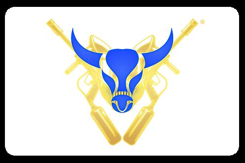 Buffalo Paintball Logo Car Decal