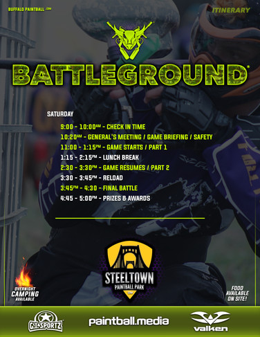 20 - Battleground Itinerary and Set Up 0
