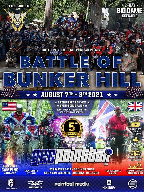 Battle Of Bunker Hill 2021 - 5 Year Anniversary
