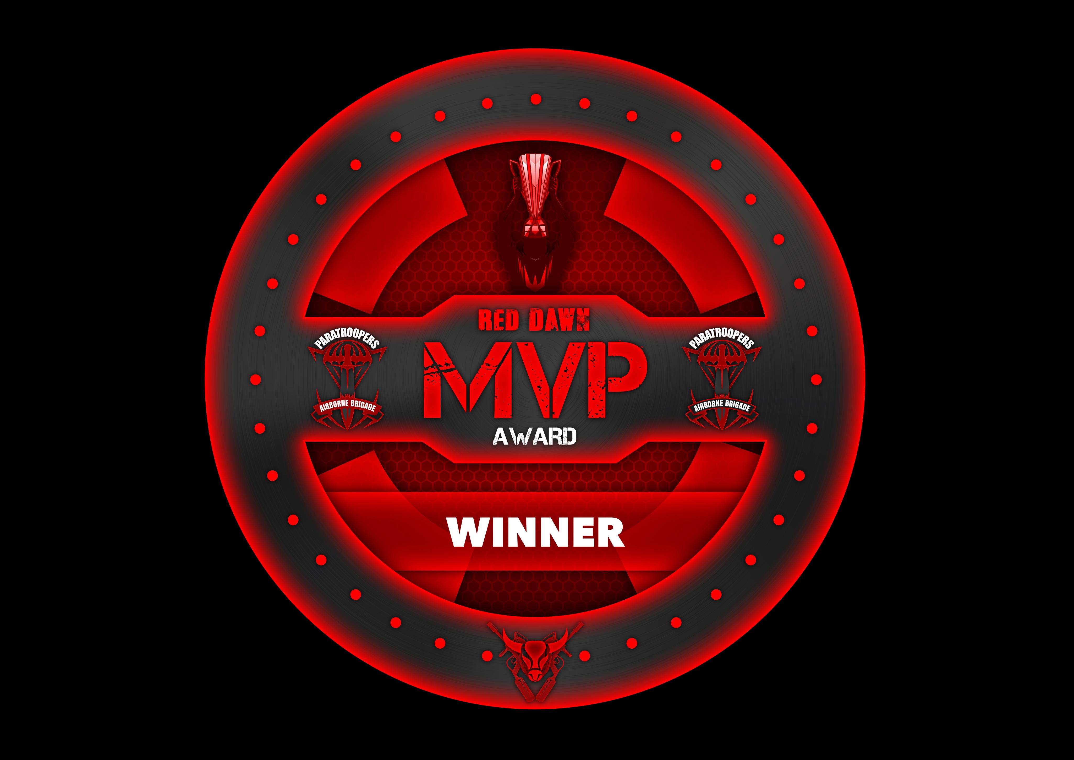 Paratroopers MVP Award