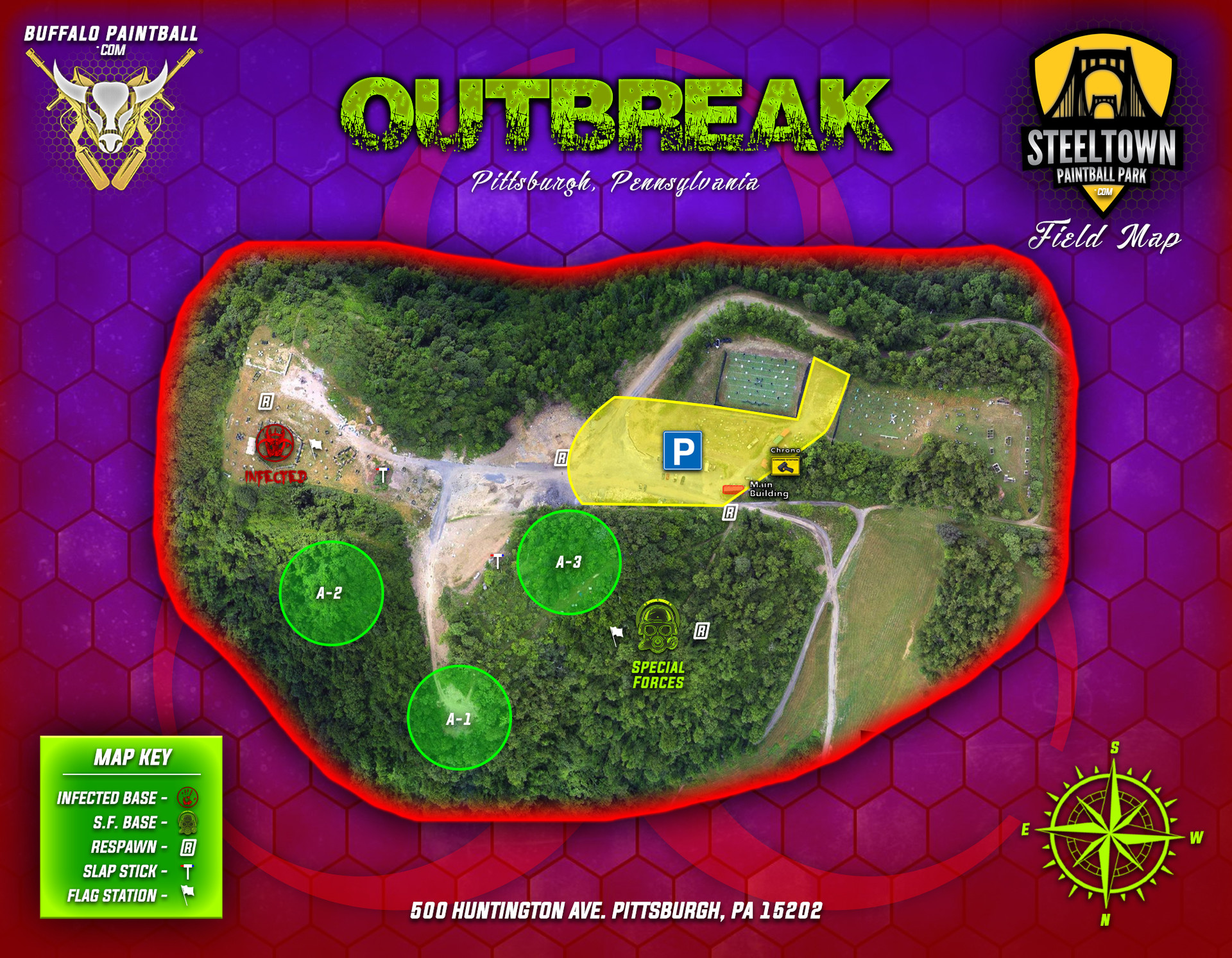 21 - Outbreak - Steeltown Paintball Fiel