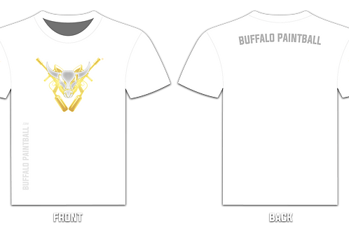 Buffalo Paintball Logo T-Shirt (White)