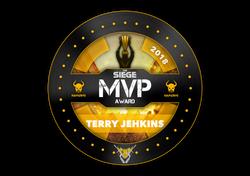 The Siege Mauraders MVP Award