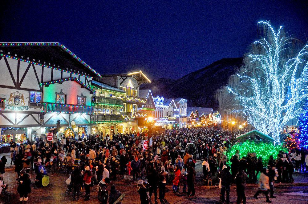Leavenworth+Washington+Christmas+Lighing
