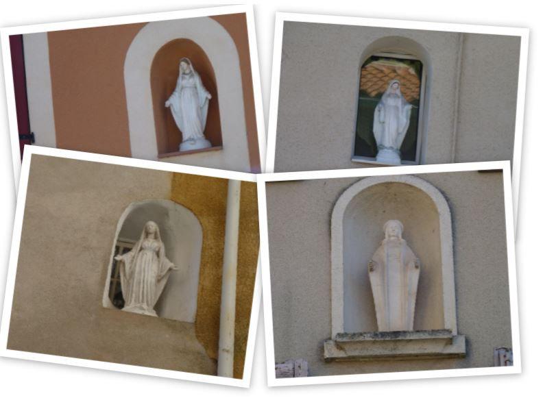Les vierges nichées