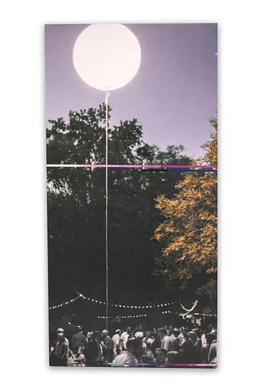 I Tethered the Moon for You | Jacob West | Glitch on Canvas