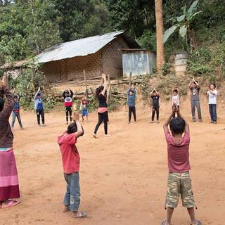 The Healing dance program empower Kayan