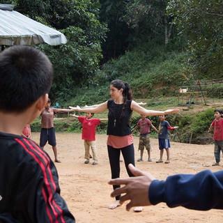 The Healing Dance Program Refugees has b
