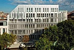 Etude environnement tertiaire, immeuble bureaux, promotion, IGH, Hôtel de ville du territoire, sièges sociaux, Pépinière d'entreprises