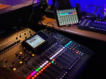 ライブハウスEN-LAB.の音響設備