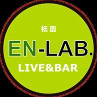 京都のライブハウスEN-LAB.のロゴ