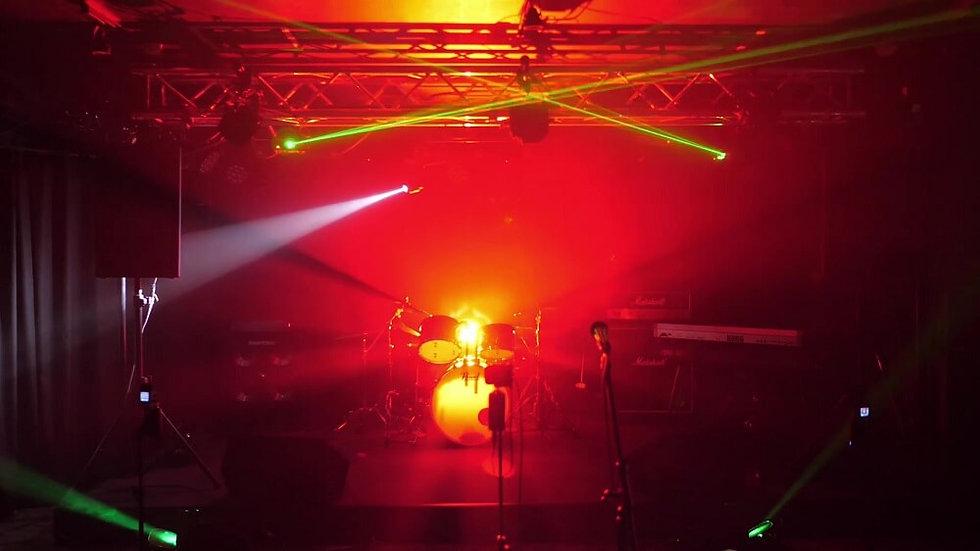 ライブハウスEN-LAB.の照明