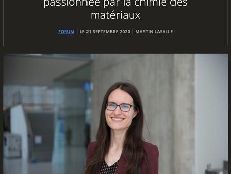 Entrevue dans UdeMNouvelles - Forum