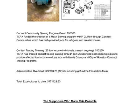 TXRX Covid PPE Project Report