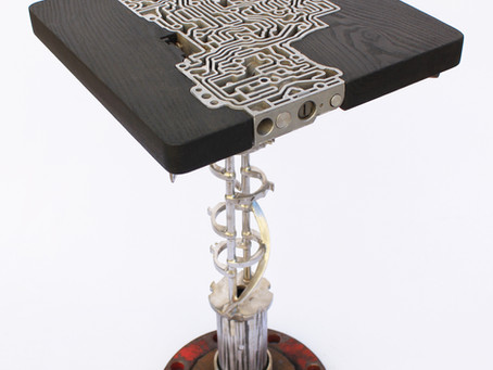 Metal + Wood Scrapyard Table
