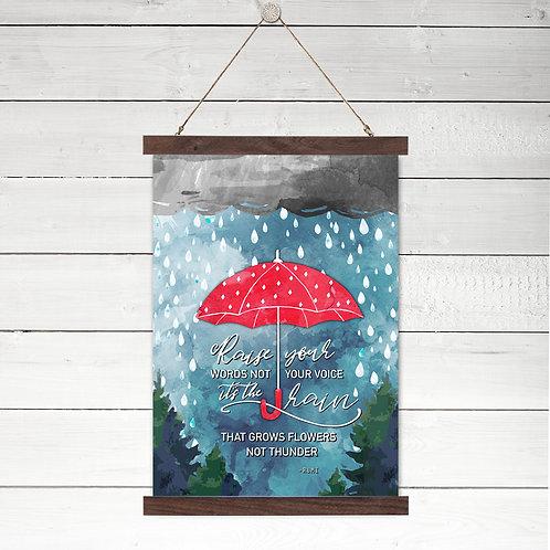 Rain Grows Flowers